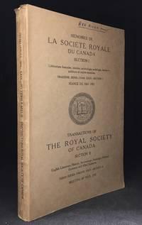 Memoires de la Societe Royale du Canada; Troisieme Serie--Tome XXIX--Section I Seance de Mai, 1935 / Transactions of the Royal Society of Canada Section II; Third Series--Volume XXIX--Section II Meeting of May, 1935
