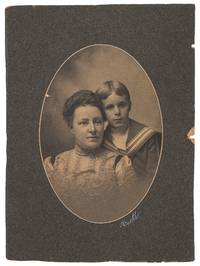 (Cabinet card): Portrait Photograph of William T. Tilden, 2nd with his mother by  2nd  William T. - 1901 - from Between the Covers- Rare Books, Inc. ABAA (SKU: 448411)