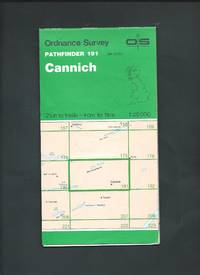 OS Pathfinder Map 191 Cannich 1 : 25000 - ( NH 23/33 ) 4cm to 1 km