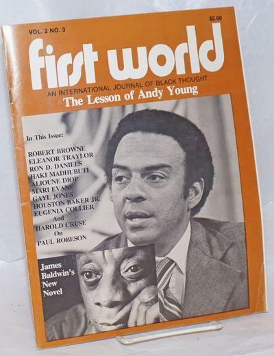 Atlanta: First World Foundation, 1979. Magazine. 64p., 8.5x11 inches, staplebound magazine, mild han...