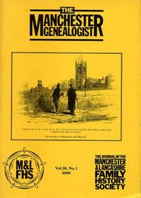 image of The Manchester Genealogist Vol 36 No 1