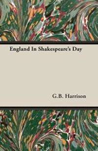 image of England In Shakespeare's Day