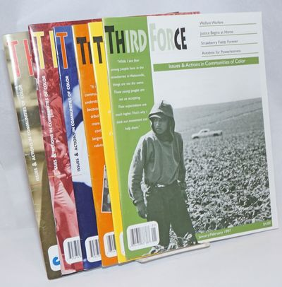 Oakland: Center for Third World Organzing, 1997. Magazine. Six issues of the bimonthly magazine, a c...