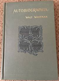 Autobiographia or the story of a life; selected from his prose writings.