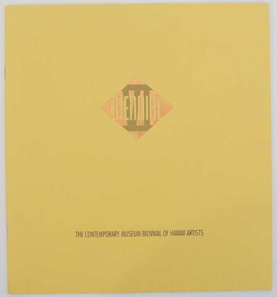 Honolulu, HI: The Contemporary Museum, 2003. First edition. Softcover. 24 pages. Exhibition catalog ...