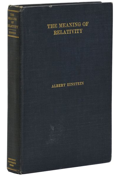 Princeton, NJ: Princeton University Press, 1923. First American Edition. Very Good. First American e...