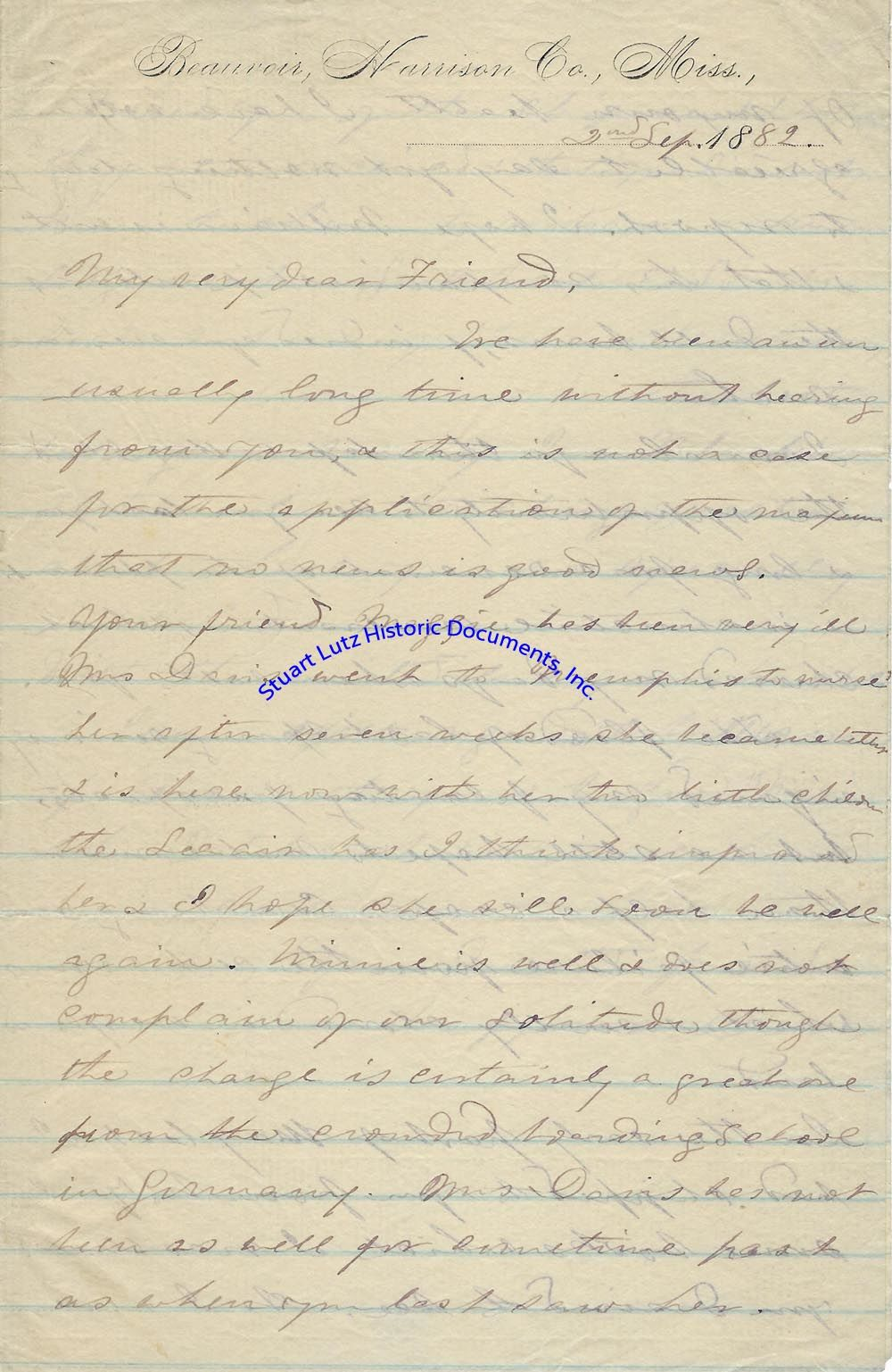 Titles starting with V from Stuart Lutz Historic Documents, Inc