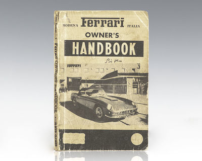Los Angeles: Floyd Clymer, 1960. First edition of this ferrari manual. Octavo, original illustrated ...