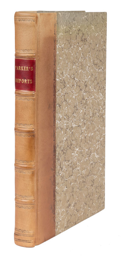 1776. An Appealing Copy of an Uncommon Volume of Exchequer Reports Parker, Thomas , Reporter. Report...