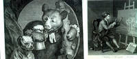Dossier of photographs & negatives of works by William Hogarth