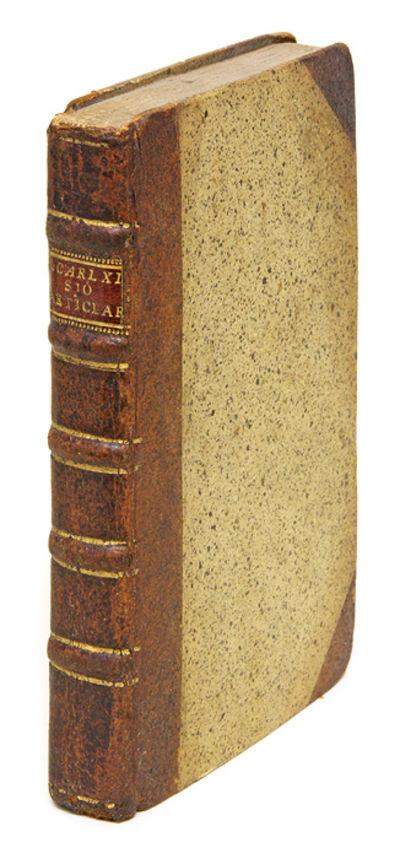 1790. A 1790 Revision of Sweden's Naval Regulations . . Sjo-Articlar, Som af Then Stormagtigste Konu...