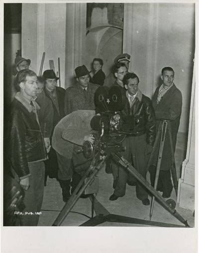 London: Carol Reed Productions, 1948. Vintage candid black-and-white still photograph from the UK re...