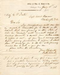 1863 and 1864 Letters Relating to Union Civil War Service