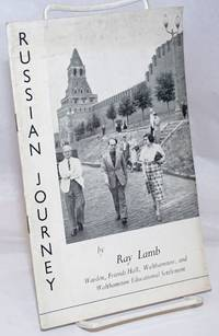 image of Russian Journey 1952: Some impressions of a visit to the Soviet Union, made in the Summer of 1952