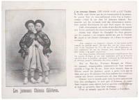Les jumeaux Chinois Célèbres.