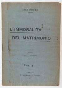 image of L'immoralita del matrimonio