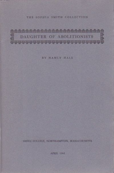 Northampton, Massachusetts: Smith College, 1964. First Edition. Pamphlet reproduces a letter from 21...