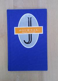 Blue Cloth Blank Lined Journal - Acid-Free Paper