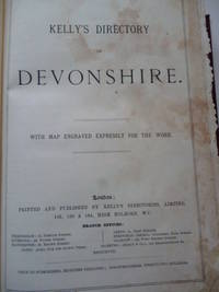 Directory of Devonshire by KELLY'S - 1910