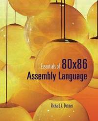 image of Essentials of 80x86 Assembly Language