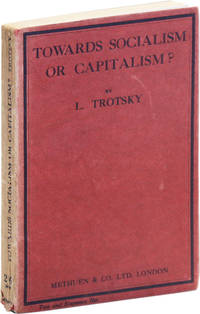 image of Towards Socialism or Capitalism? Translated by R.S. Townsend and Z. Vengerova