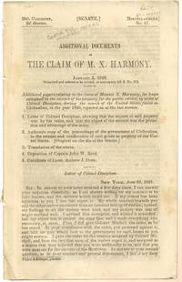 Additional Documents in the Claim of M. X. Harmony