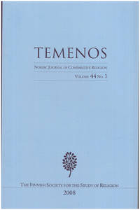 Temenos: Nordic Journal of Comparative Religion (Vol 44, No. 1)