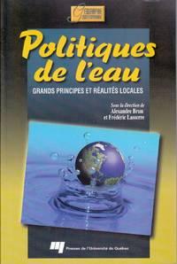 Politiques de l'eau.  Grands principes et réalités locales.