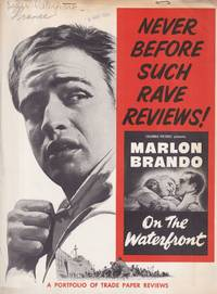 image of On the Waterfront (Original press kit for the 1954 film, with photographs)
