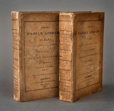 New York: J. & J. Harper, 1832. Very good, 2 volumes, printed tan muslin, both volumes skillfully re...
