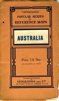 Australia - Political.  Folding map in self wrapper