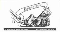 EXQUISITE CORPSE  A MONTHLY [later: JOURNAL] OF BOOKS & IDEAS