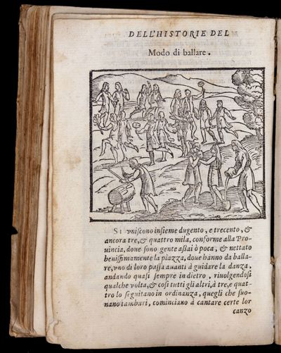 8vo. (4) 179, (1) ff., including author portrait and 18 half-page woodcuts. Bound in contemporary li...