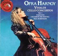 Ofra Harnoy Performs Vivaldi Cello Concertos, Vol.I