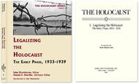 Holocaust Series Vol. 1: Legalizing the Holocaust: The Early Phase..