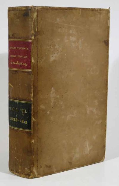 Washington: Duff Green, 1835. 1st edition. Tan leather binding with red and black spine labels with ...