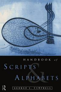 image of The Routledge Handbook of Scripts and Alphabets