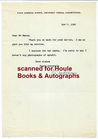 Typed Letter Signed