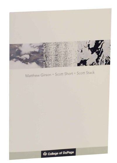 Glen Ellyn, IL: Gahlberg Gallery College of DuPage, 2005. First edition. Softcover. 8 pages. Exhibit...
