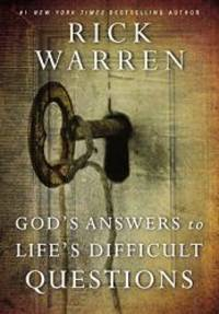 image of God's Answers to Life's Difficult Questions (Living with Purpose)