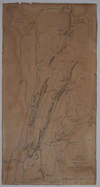 image of Pays Situe entre Frog's Point et Croton River et Position des Armees Americaine et Brittanique Depuis le 12 Octobre 1776, jusqu'au 28 du meme mois qu'elles engagerent le Combat sur les Plaines Blanches.  Revolutionary War map