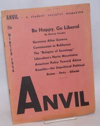 Anvil, a student socialist magazine and student partisan. Vol. 7, no. 2 (Whole Number 13), Winter 1956