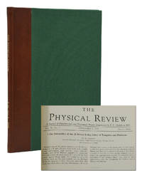 The Mechanism of Nuclear Fission [and] On Continual Gravitational Contraction [in] The Physical Review Vol. 56, No. 5, September 1, 1939