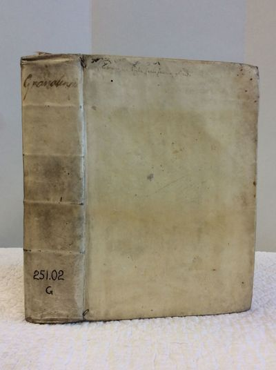 Verona, 1732. Hardcover. Ex monastery library; bound in full vellum. 600+ pages. 7 1/4