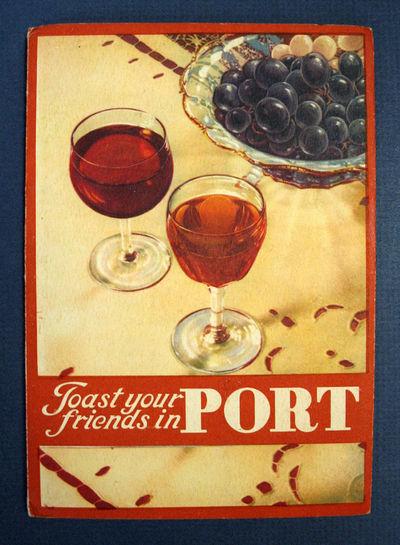 Oporto, Portugal: Published by the Instituto do Vinho do Porto, (n. d.). 1st printing (presumed). Co...