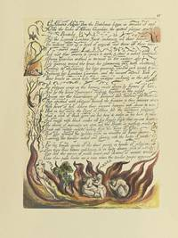 Individual Facsimile Prints from the Trianon Press; America A Prophecy, plate 15 by  William Blake - from Archives Fine Books  (SKU: 1227)