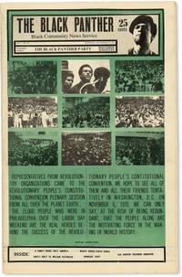 image of The Black Panther: Black Community News Service - Vol.V, No.12 (September 19, 1970)