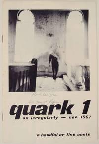 Quark 1 : An Irrgularly - Nov. 1967