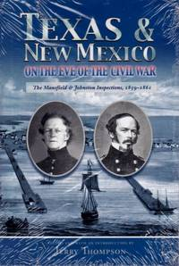 image of Texas & New Mexico on the Eve of the Civil War