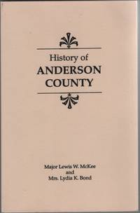 image of A History of Anderson County [Kentucky] 1780-1936